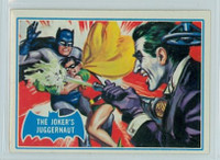 1966 Batman Blue Bat 23 The Joker's Juggernaut Excellent to Mint Logo