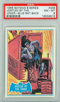 1966 Batman Blue Bat 30 Jostled by the Joker PSA 8 Near Mint to Mint Logo