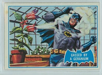 1966 Batman Blue Bat 33 Gassed By a Geranium Very Good to Excellent Logo