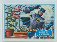1966 Batman Blue Bat 33 Gassed By a Geranium Excellent to Mint Logo