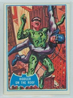 1966 Batman Blue Bat 37 Riddler on the Roof Excellent to Mint Logo