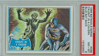 1966 Batman Blue Bat 39 Caught in a Cavern PSA 8 Near Mint to Mint Logo