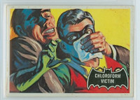 1966 Batman Black 6 Chloroform Victim Very Good