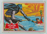1966 Batman Red 7 The Batline Lifeline Good to Very Good