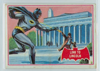 1966 Batman Red 17 Link to Lincoln Good to Very Good