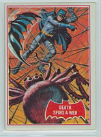 1966 Batman Red 18 Death Spins a Web Excellent