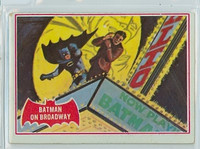 1966 Batman Red 44 Batman on Broadway Good to Very Good