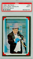 1966 Batman Riddler 33 The Pudgy Penguin PSA 7 Near Mint