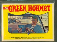 1966 Green Hornet Stickers 7 Sticker #7 Near-Mint