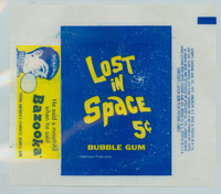 1966 Lost In Space 5 Cent Wrapper NMT