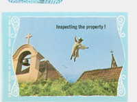 1968 Flying Nun 61 Inspecting the Property Near-Mint to Mint