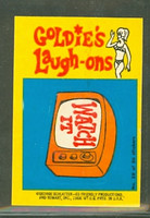 1968 Laugh-In Inserts 10 Watch It Excellent to Mint