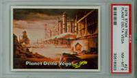 1976 Star Trek 21 Planet Delta Vega PSA 8 Near Mint to Mint
