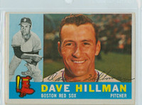 Dave Hillman AUTOGRAPH 1960 Topps #68 Red Sox CARD IS VG/EX  [SKU:HillD4696_T60BB]