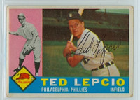 Ted Lepcio AUTOGRAPH d.19 1960 Topps #97 Phillies   [SKU:LepcT264_T60BBH1jl]