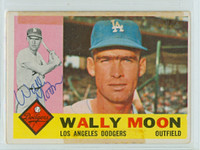 Wally Moon AUTOGRAPH 1960 Topps #5 Dodgers 