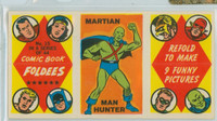 1966 Comic Book Foldees 15 Martian, Man Hunter Near-Mint to Mint