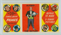 1966 Comic Book Foldees 20 Alfred the Butler Near-Mint