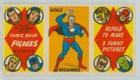 1966 Comic Book Foldees 28 Ugly Bizarro Near-Mint to Mint