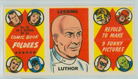 1966 Comic Book Foldees 35 Leering (Lex) Luthor Near-Mint