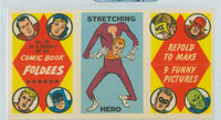 1966 Comic Book Foldees 36 Stretching Hero Near-Mint