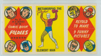 1966 Comic Book Foldees 37 Metamorpho the Element Man Near-Mint to Mint