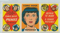 1966 Comic Book Foldees 39 Comic Book Reporter Near-Mint to Mint