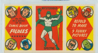 1966 Comic Book Foldees 42 Mysterous Spectre Near-Mint to Mint