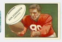 1953 Bowman Football 86 Don Stonesifer St. Louis Cardinals Excellent