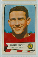 1954 Bowman Football 113 Charles Conerly New York Giants Excellent