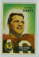 1955 Bowman Football 7 Frank Gifford New York Giants Very Good to Excellent