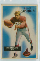 1955 Bowman Football 9 Don Stonesifer Chicago Cardinals Excellent