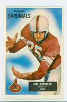 1955 Bowman Football 18 Max Boydston Chicago Cardinals Excellent