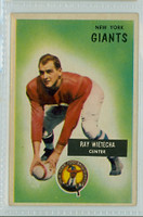 1955 Bowman Football 24 Ray Wietecha New York Giants Excellent to Mint
