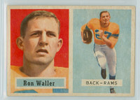 1957 Topps Football 82 Ron Waller Los Angeles Rams Excellent to Mint