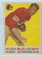 1959 Topps Football 5 Hugh McElhenny San Francisco 49ers Very Good