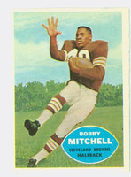 1960 Topps Football 25 Bobby Mitchell Cleveland Browns Near-Mint