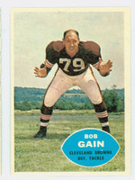 1960 Topps Football 30 Bob Gain Cleveland Browns Near-Mint