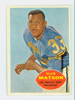 1960 Topps Football 63 Ollie Matson Los Angeles Rams Excellent to Mint