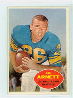 1960 Topps Football 64 Jon Arnett Los Angeles Rams Excellent
