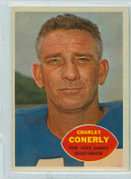 1960 Topps Football 72 Charley Conerly New York Giants Near-Mint