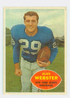 1960 Topps Football 75 Alex Webster New York Giants Near-Mint