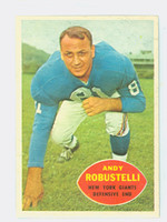 1960 Topps Football 81 Andy Robustelli New York Giants Near-Mint