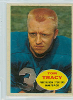 1960 Topps Football 95 Tom Tracy Pittsburgh Steelers Excellent