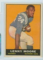 1961 Topps Football 2 Lenny Moore Baltimore Colts Excellent to Mint