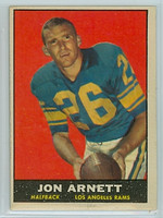 1961 Topps Football 49 Jon Arnett Los Angeles Rams Excellent