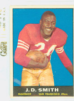 1961 Topps Football 60 JD Smith San Francisco 49ers Very Good