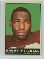 1961 Topps Football 70 Bobby Mitchell Cleveland Browns Excellent to Mint