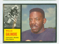 1962 Topps Football 14 Willie Galimore Chicago Bears Very Good to Excellent