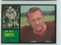 1962 Topps Football 30 Jim Ray Smith Cleveland Browns Excellent
